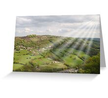 The Hills Have Beams. Greeting Card