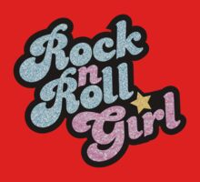 Rock n' Roll Girl Baby Tee