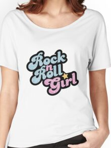 Rock n' Roll Girl Women's Relaxed Fit T-Shirt