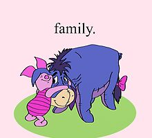 Eeyore and Piglet by janosliam