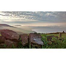 Robin Hoods Bay Fog Photographic Print