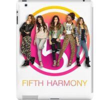 Fifth Harmony in front of cut out iPad Case/Skin