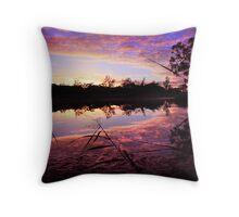 River Murray Glory Throw Pillow