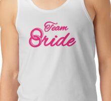 Team bride rings Tank Top