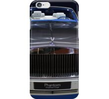 rolls royce phantom iPhone Case/Skin