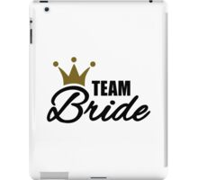 Team bride crown iPad Case/Skin