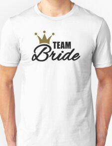 Team bride crown Unisex T-Shirt