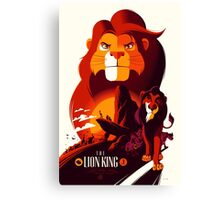The Lion King Canvas Print