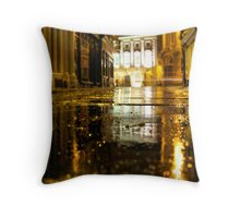 Where the streets are paved with gold Throw Pillow