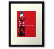 Lip Balm Flavoured Coke (Open Strangeness) Framed Print