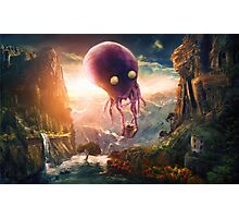 Octopus Riders Photographic Print