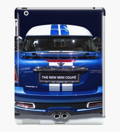mini coupe blue colour iPad Case/Skin