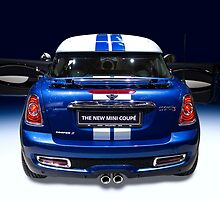 mini coupe blue colour by Radoslav Nedelchev