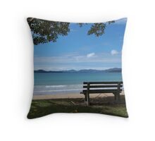 A place to rest..........! Throw Pillow