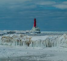 Iced Pere Marquette by Ted Schlosser