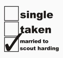 Single, Taken, Married to Harding by NoniRose
