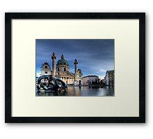 Karlskirche Framed Print