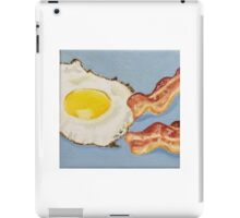 Eggs & Bacon Painting iPad Case/Skin