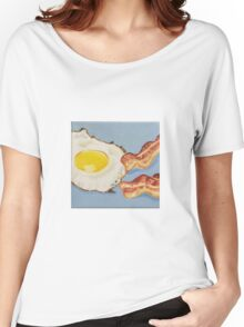 Eggs & Bacon Painting Women's Relaxed Fit T-Shirt