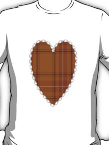 00101 Australia District Tartan  T-Shirt
