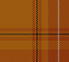 00101 Australia District Tartan  Sticker