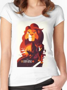 The Lion King Women's Fitted Scoop T-Shirt