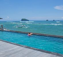 By The Pool - Bali by Paul Campbell  Photography
