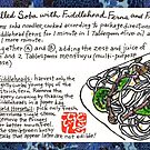 Soba with Fiddleheads and Horsetails by dosankodebbie