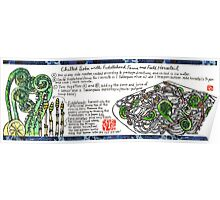Soba with Fiddleheads and Horsetails Poster