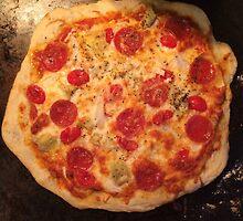 Pepperoni Pizza Photo by Lagoldberg28
