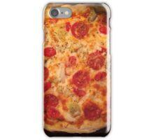 Pepperoni Pizza Photo iPhone Case/Skin