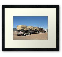 Army Vehicles Framed Print