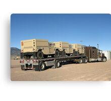 Army Vehicles Canvas Print