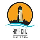 Santa Cruz California Lighthouse by Frank Schuster