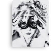 Goggles REDUX Canvas Print