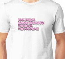 Nicki Minaj Discography. Unisex T-Shirt