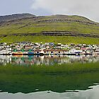 Icelandic Town by Marylou Badeaux