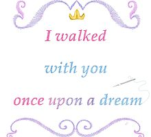 Once Upon a Dream Needlepoint by WDWCEC23