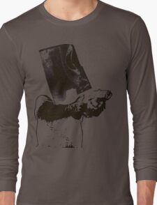 monkey scream monkey shoot Long Sleeve T-Shirt