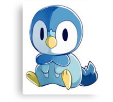 Sinnoh Project - Piplup Canvas Print