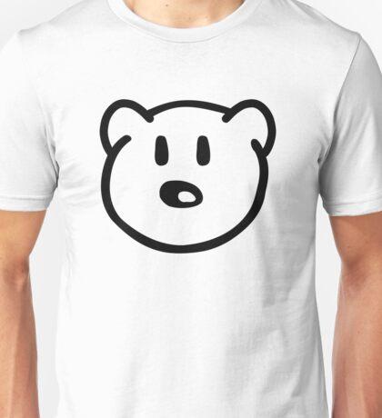 Teddy bear head Unisex T-Shirt