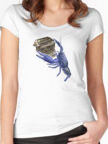 Literary Claws Women's Fitted Scoop T-Shirt