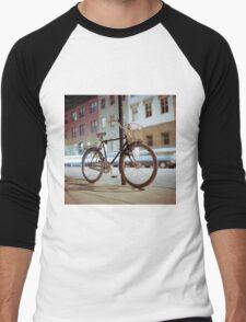 City Bicycle Men's Baseball ¾ T-Shirt