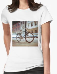City Bicycle Womens Fitted T-Shirt