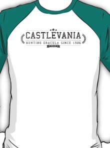 Castlevania - Retro Black Dirty T-Shirt