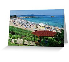 """""""Lazing on a Sunny Afternoon"""", Lozenets, Bulgaria Greeting Card"""