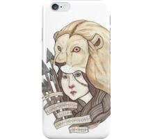 Lions Don't Lose Sleep iPhone Case/Skin