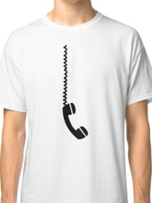 Telephone receiver cable Classic T-Shirt