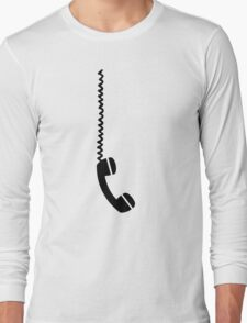 Telephone receiver cable Long Sleeve T-Shirt
