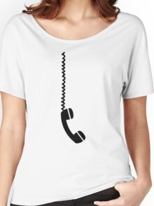 Telephone receiver cable Women's Relaxed Fit T-Shirt